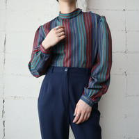 Multi Color Stripe Blouse REGRBL