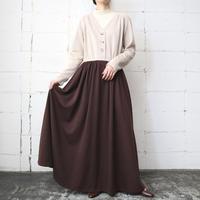 Bicolor Wool Dress BEBR