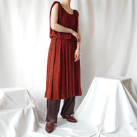 Pattern Knit Dress ORBR