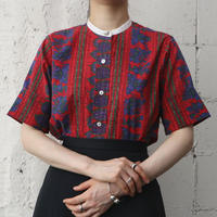 60's Vintage Pattern Shirt REBL