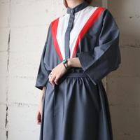 Tricolor Shirt Dress GRWHRE