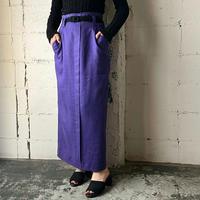 Linen Tight Skirt PUR