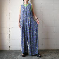 FLAX  Collarless Jumpsuit PUR