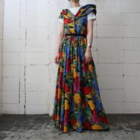 Fruit Pattern Long Dress BLREYE