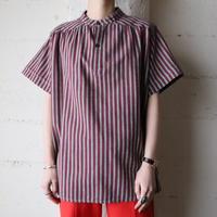 Stripe Short Sleeve Blouse REGR