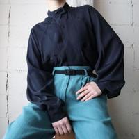 Design Collar Rayon Shirt BK