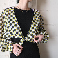 Othello Pattern See though Blouse YE