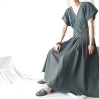 Linen Cashcouer Dress DGR