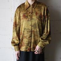 ESCADA Horse Pattern Silk Shirt MUS