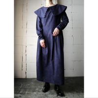 Big Turnover Collar Dress NV