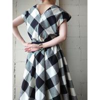 Vintage Check Dress BKWH