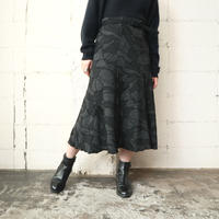 Flower Pattern Knitted Skirt GRBK
