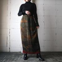 Jockey&Horse Pattern Skirt BR