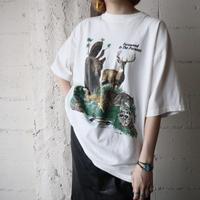 Animal Print Tee WH