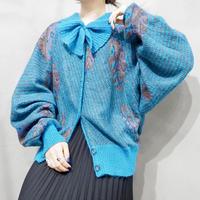 Pattern Knit Cardigan BL