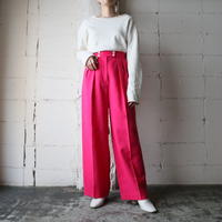 Tuck Wide Pants PI