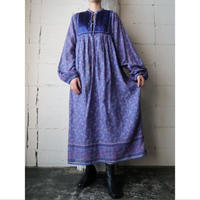 1960~70's Vintage Indian Cotton Dress BL