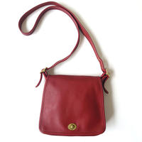 COACH Front Cover Square Shoulder Bag RE