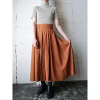 Button Design Rayon Skirt OR