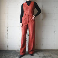 Shadow Stripe Jump Suit OR