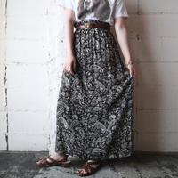 Paisley Pattern Easy Skirt BR