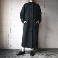 L.L.Bean Check Stand Fall Collar Coat DGN