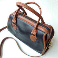 COACH Bicolor Boston Bag BK CA