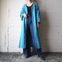 Stripe Collarless Dress BL