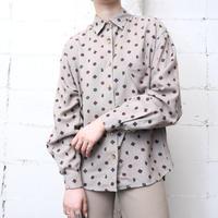 Small Pattern Rayon Shirt BE