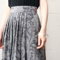 Paisley Silk Skirt GR