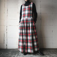 Plaid Sleeveless Dress REWH