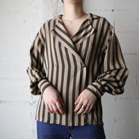 Stripe Double Blouse BEBR