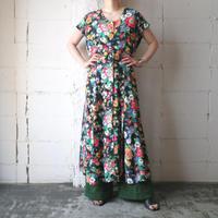 Flower Pattern Dress BK