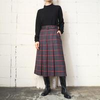 Plaid Pleated Skirt GRRE