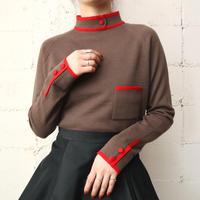 Mock Neck Bicolor Sweater BRRE