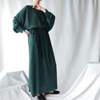 Pleated Long Dress GR