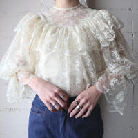 Frilled York Lace Blouse IV