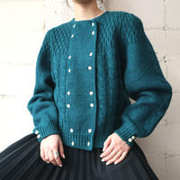 Double Breasted Cable Cardigan GR