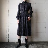 Small Pattern Dress BK
