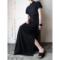China Dress Short Sleeve BK