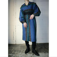 Vintage Stripe Dress BLGR