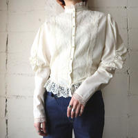 Leg Of Mouton Sleeve Lace Blouse IV