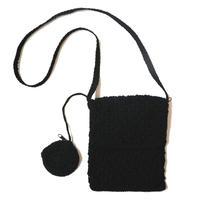 Crochet Shoulder Bag BK