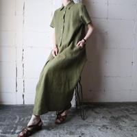 Linen Shirt Dress KA