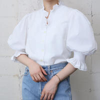 Tyrolean Candy Sleeve Blouse WH