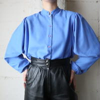 Stand Collar Dolman Sleeve Blouse BL