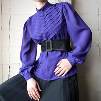 Tucked Blouse PUR