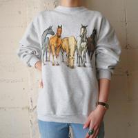 Horse Print Sweat GR