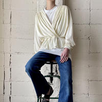 Pleated Cachecoeur Blouse IV