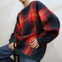 Check Mohair Sweater REGR